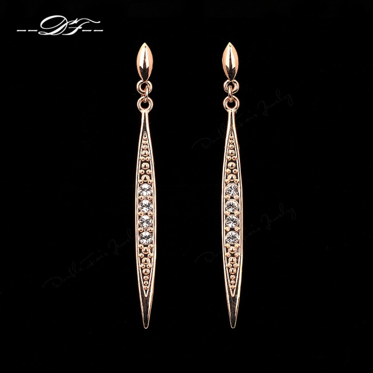 wholesale cz jc jewellery fashion cute earrings steel stud jewelry stainless